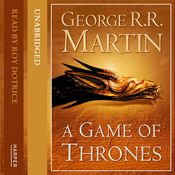 4% through A Game of Thrones (Part Two) Book 1 of A Song of Ice and Fire (Unabridged) by George R. R. Martin, narrated by Roy Dotrice on #Audible for Android! https://www.audible.co.uk/pd?asin=B005C52ZPQ&source_code=AFAORWS04241590G3