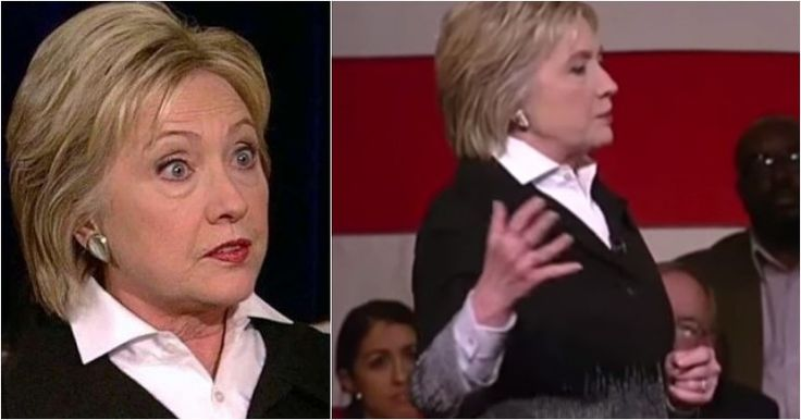 Video Of Hillary Speech Gets Attention After What Attendee Did Behind Her Back