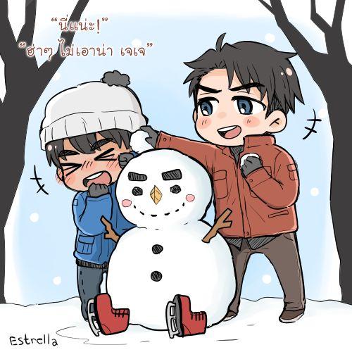 Yuri!!! on Ice - Phichit Chulanont x Jean-Jacques Leroy - Phijean