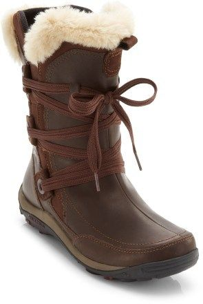 I LOVE these!!! Size 8  Merrell Nikita Waterproof Winter Boots - Women