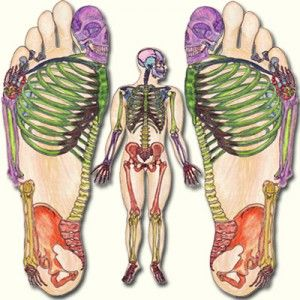 Reflexology: a treatment for the feet that benefits mind and body