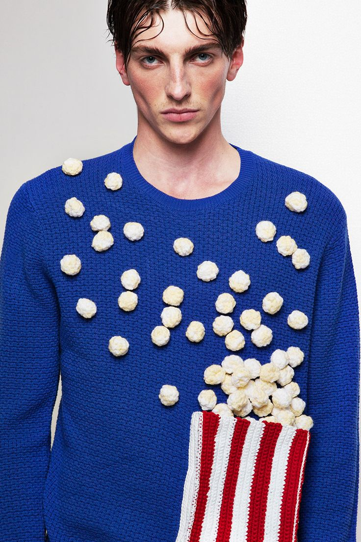 Knitwear: fashionable, practical and ... unusual