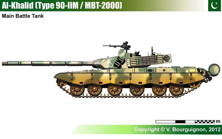 Al-Khalid Main Battle Tank