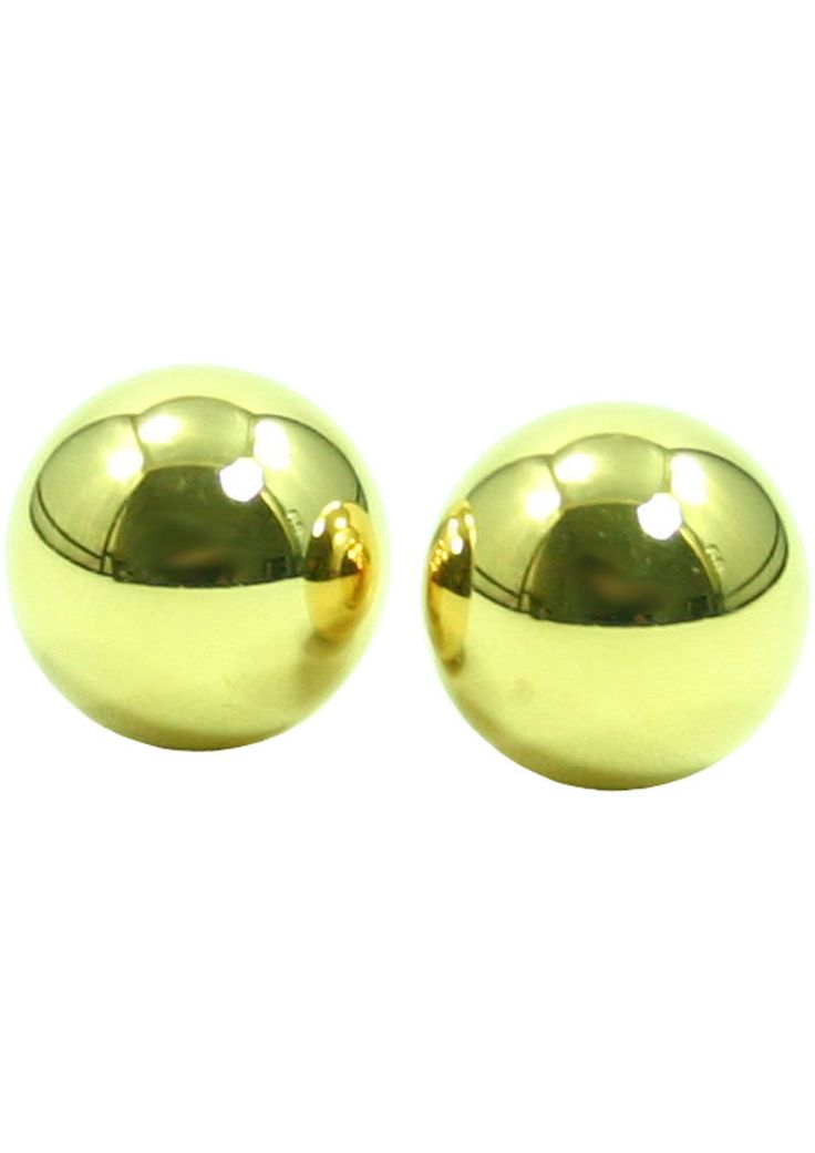 Buy Ben Wa Gold Balls In Plastic Case online cheap. SALE! $11.99