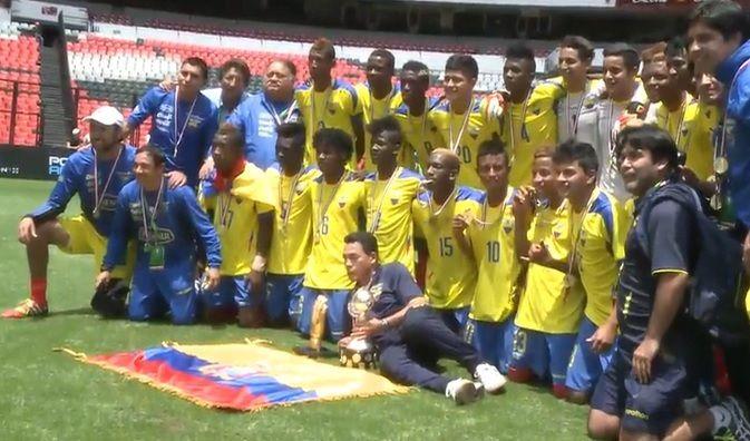 Sitio Oficial de la Federación Ecuatoriana de Fútbol - ECUADOR CAMPEÓN DE LA COPA MÉXICO DE NACIONES 2014