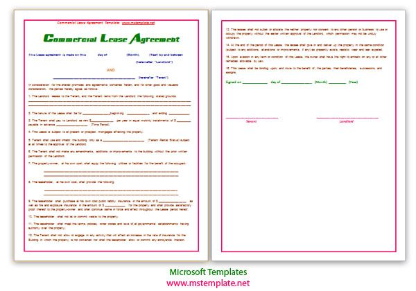 An employment agreement holds significant importance, as it - microsoft word rental agreement template