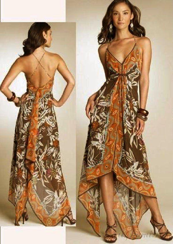 шьем простое платье