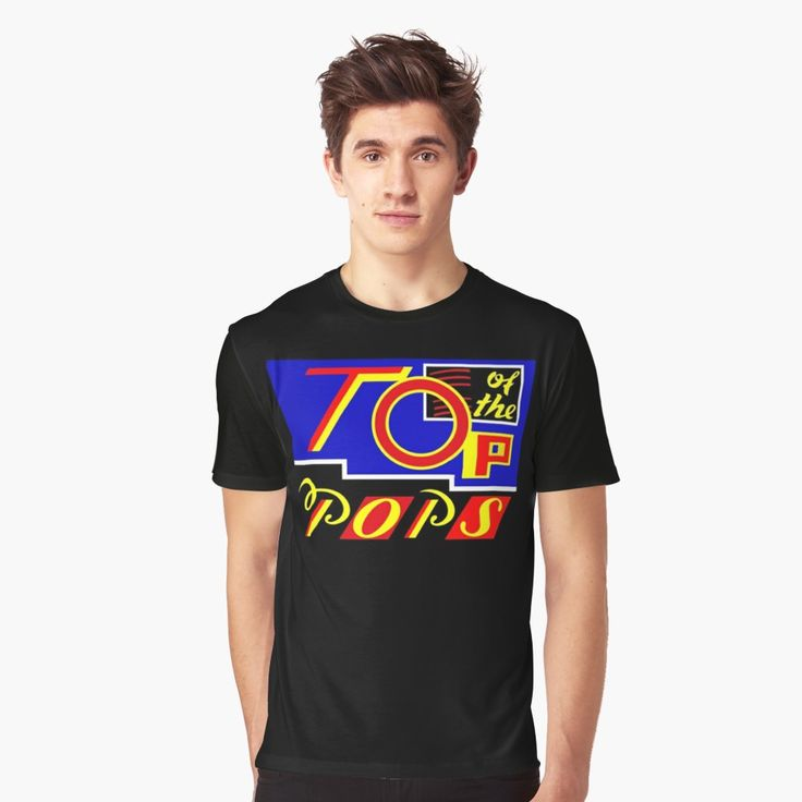 Top of the Pops 1987-88 Big Graphic T-shirt for Men