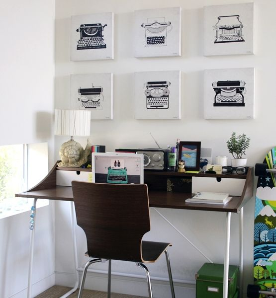 96 best Chic Office Spaces images on Pinterest | Work spaces, Home ...