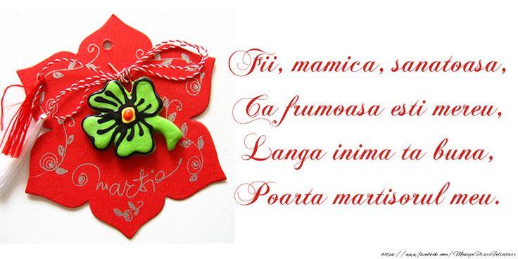 Felicitari de 1 Martie - Poezie de martisor pentru mama - mesajeurarifelicitari.com
