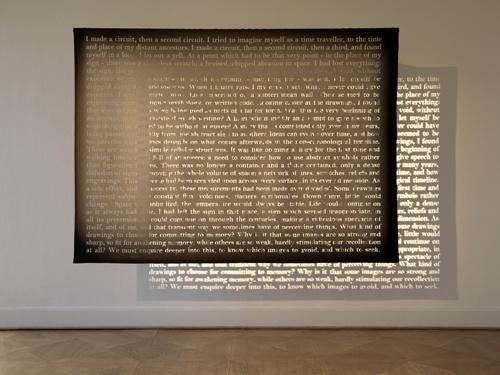 Tinto gaditano entre dos artistas: Con finca Moncloa en el MUSAC