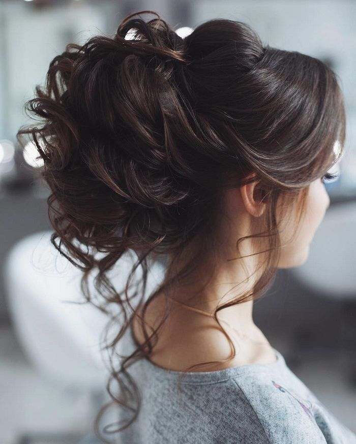 Pleasant 1000 Ideas About Messy Wedding Hairstyles On Pinterest Messy Short Hairstyles Gunalazisus