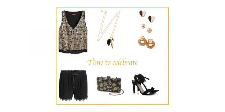 Time to celebrate #fashionblog #germanfashionblog #silvesteroutfit #shorts #crapeshorts  http://fashiontipp.com