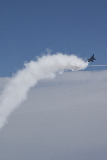 F-35 High Angle of Attack Testing by Lockheed Martin, via Flickr