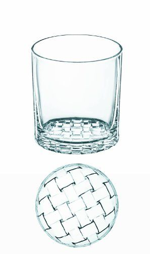 Nachtmann Dancing Stars Bossa Nova Crystal Double Old Fashion Glasses By Riedel Glassworks, Set Of 2, 2015 Amazon Top Rated Old Fashioned Glasses #Kitchen
