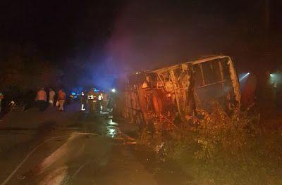 Cinco muertos y 43 heridos deja accidente de tránsito registrado en Cuestecitas