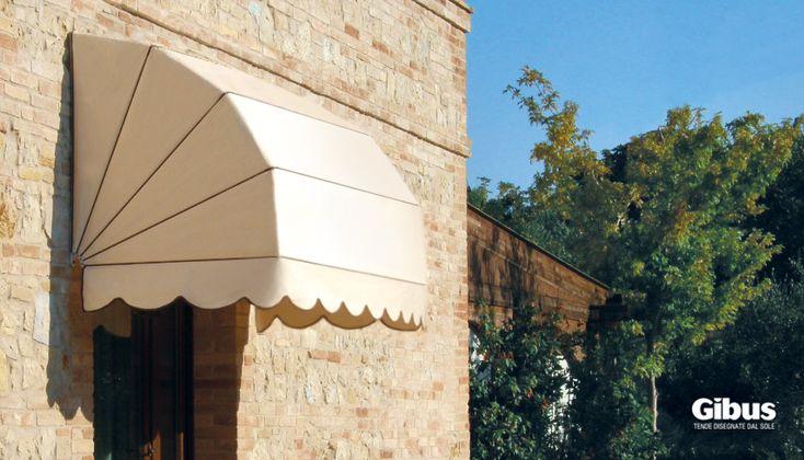 cappottine GIBUS, l'essenziale eleganza di un modello classico che si abbina facilmente a diverse architetture