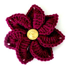 A free crochet pattern that's great to add pop, super quick and is also a perfect stash buster.