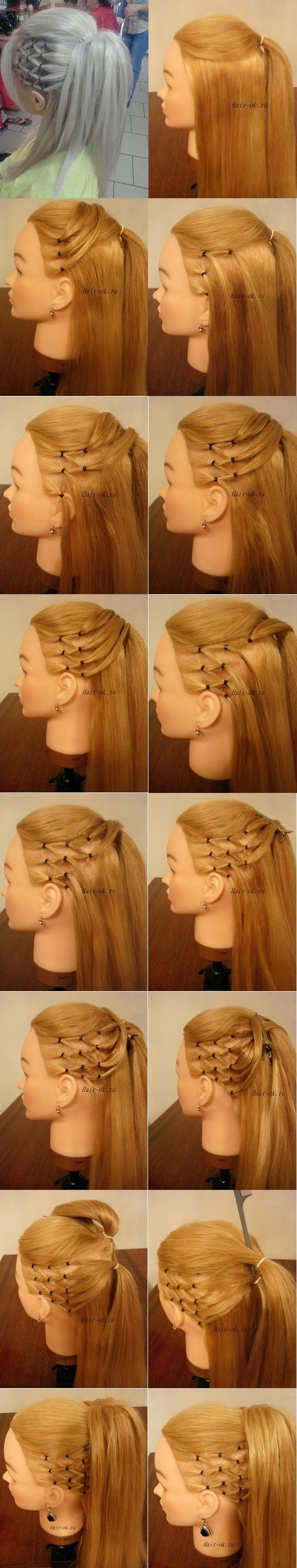 elegant hairstyle idea