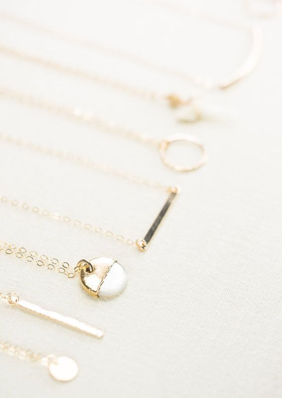 A'ala  shell necklace gold necklace gold strand