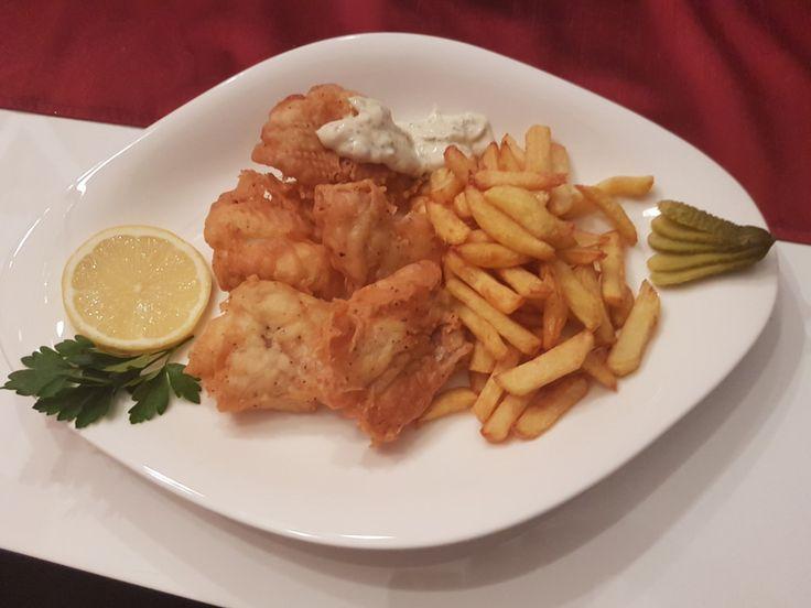 Fish & Chips with Tatar sauce, ein sehr leckeres Rezept aus der Kategorie Fisch. Bewertungen: 12. Durchschnitt: Ø 4,2.