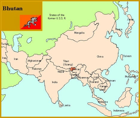 Part of our work: Education. Didn't know where Bhutan was? Now you do! Thousands of Bhutanese refugees are currently resettling in the US.