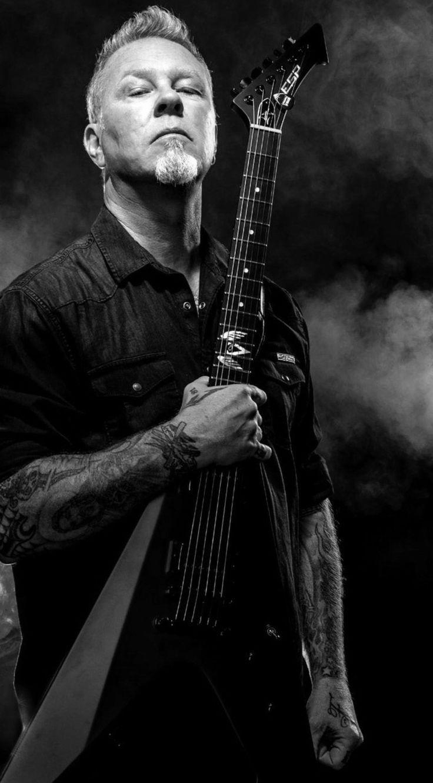 James Hetfield-Metallica............