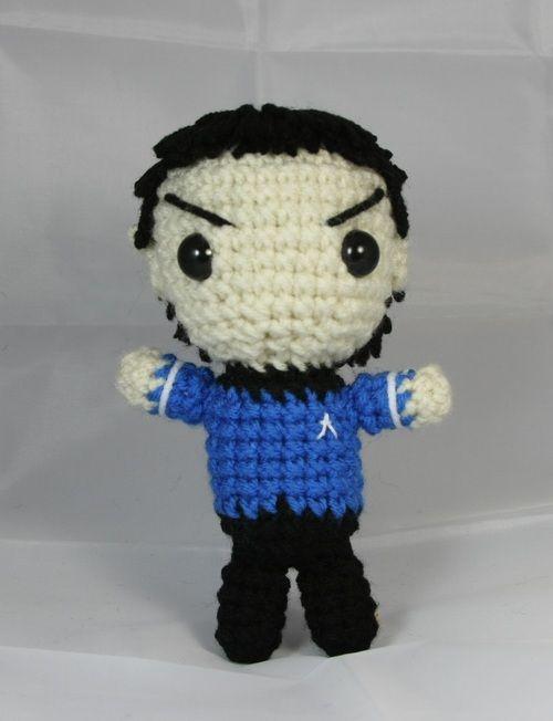 Tutorial Iniciacion Amigurumi : Mr spock amigurumi free crochet pattern tutorial
