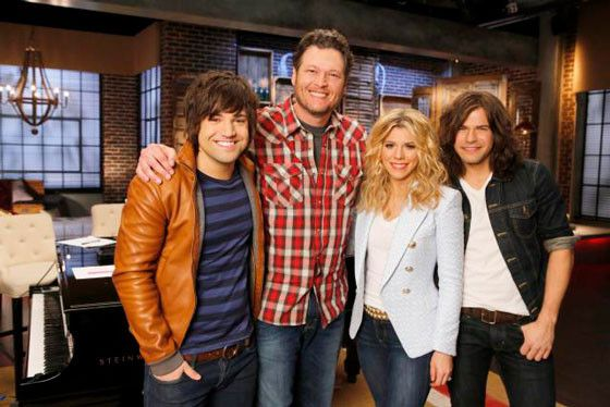 Have you heard? The Band Perry will be joining Blake Shelton on The Voice as his team'a guest advisors. Be sure to tune in, the season begins Feb. 24th! #TeamBlake