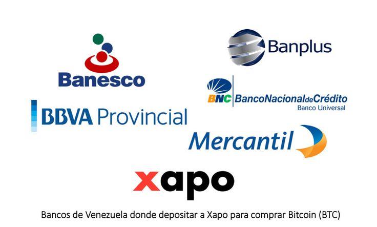 XAPO agrega 4 nuevos Bancos en Venezuela para comprar Bitcoin -  http://espaciobit.com.ve/main/2016/09/21/xapo-agrega-4-nuevos-bancos-en-venezuela-para-comprar-bitcoin/ #Xapo, #Bancos, #Venezuela, #Bitcoin, #ComprarBitcoin, #Banesco, #BBVAProvincial, #Mercantil, #BancoNacionalDeCredito, #Banplus