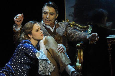Rebecca Maxim De Winter and Daphne/Me (actors: Szilveszter P. Szabó and Zsuzsanna Vágó)