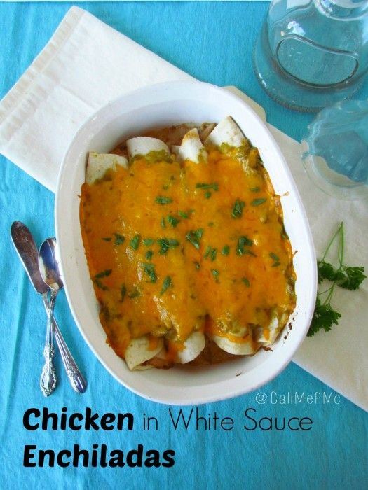 chicken in white sauce enchiladas meal recipes chicken recipes free ...