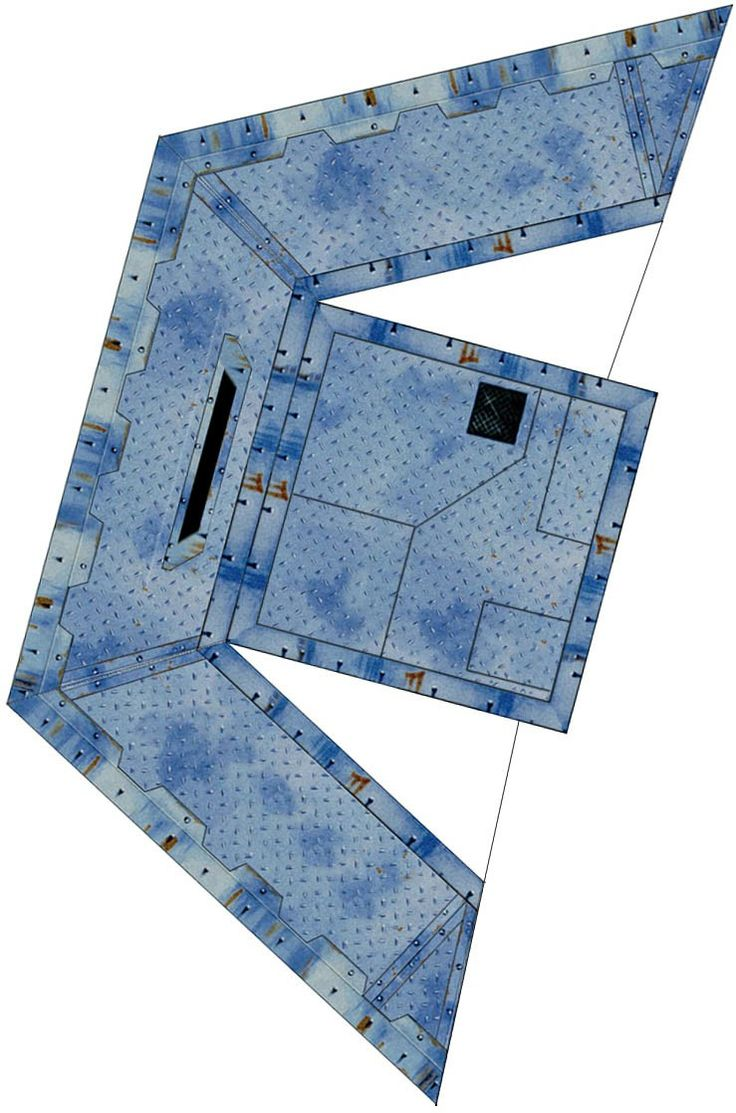 This is an image of Geeky D&d Paper Miniatures Template