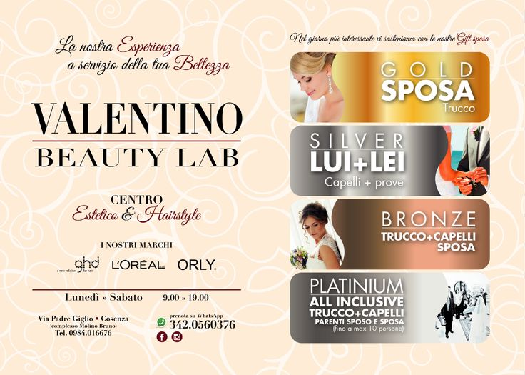 Valentino Beauty Lab Centro Estetico e Hairstyle