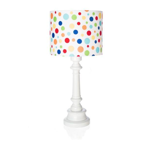 "Lampa ""Kolorowe kropki""  Zobacz inne produkty: http://bit.ly/1mHiui1  #lamps #forkids #design #dizajn #dots"