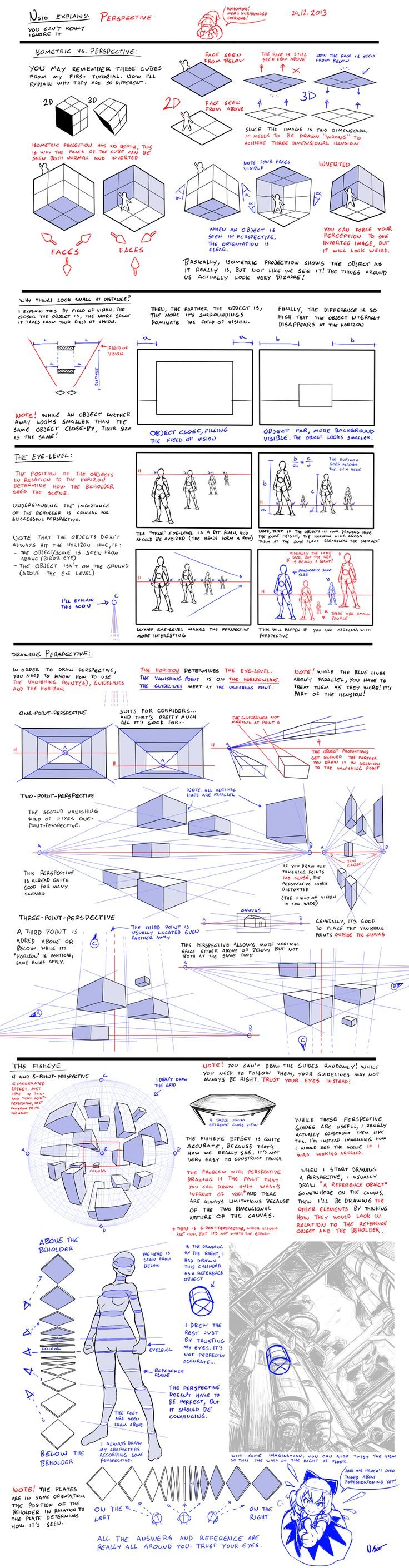 Nsio explains: Perspective by Nsio.deviantart.com on @deviantART