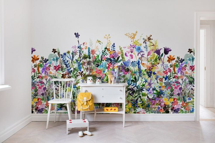 25 best ideas about wall wallpaper on pinterest for Candy wall mural