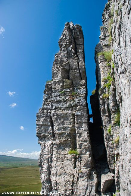 Penyghent Pinnacle, Yorkshire Dales, North Yorkshire, England