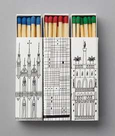 Very cute matchboxes (and love those match head colors!)
