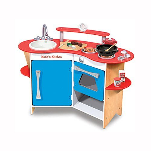 Personalized Wooden Play Kitchen - The perfect birthday present for a little baker or chef!