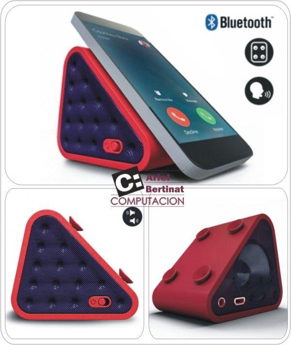 🎶 PARLANTE PORTÁTIL BLUETOOTH MANOS LIBRES 🎶   ● Micrófono incorporado para uso como manos libres.  ● 4 ventosas de Soporte.  ● Bluetooth o entrada Auxiliar 3.5mm.