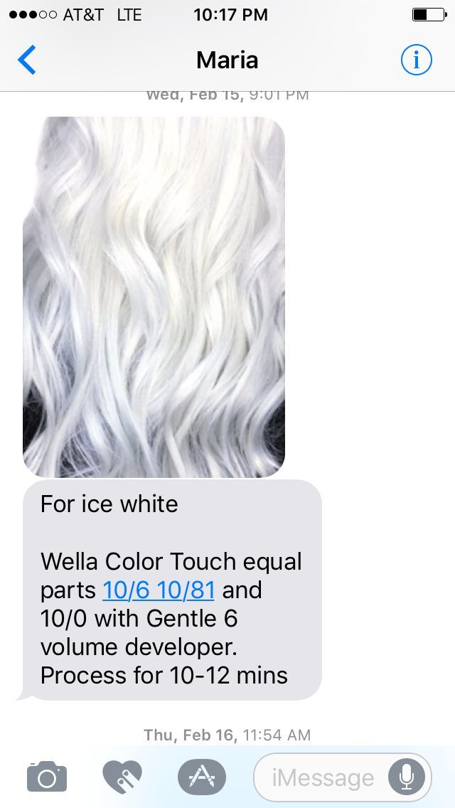 Directions haarfarbe white toner