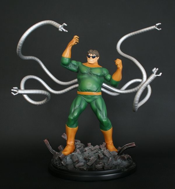 Dr. Octopus statue  Sculpted by: Kucharek Brothers    Release Date: April 2010  Edition Size: 600  Order Of Release: Phase IV (statue #196)