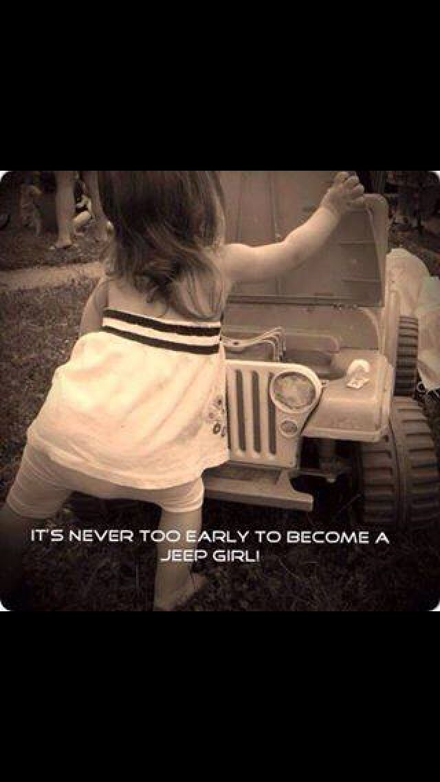 It's a Jeep girl kind of thing.... ❤️