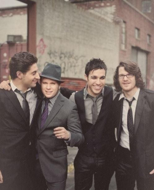 1 part Patrick Stump, 1 part Pete Wentz, 1 part Andy Hurley, and 1 part Joe Trohman.... Perfection <3