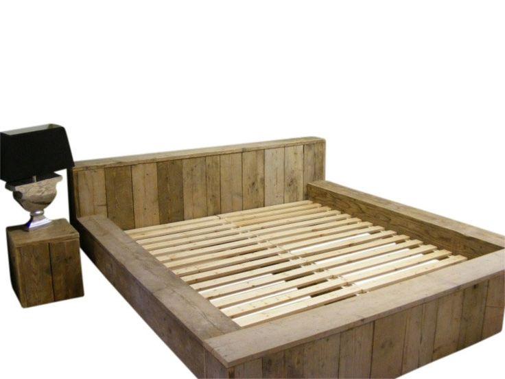 25 beste idee n over houten hoofdeinde op pinterest doe for Plank boven bed