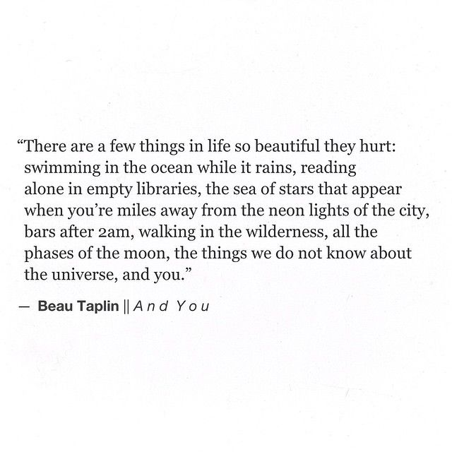 Beau Taplin | And You