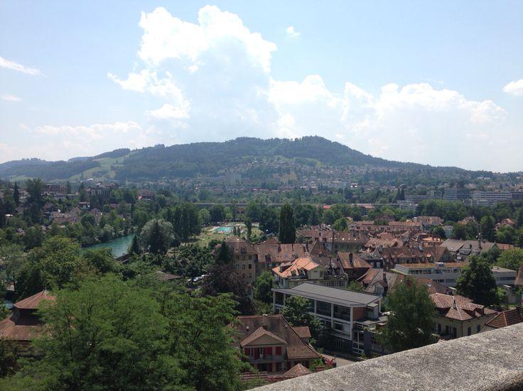 Old city of Bern Switzerland