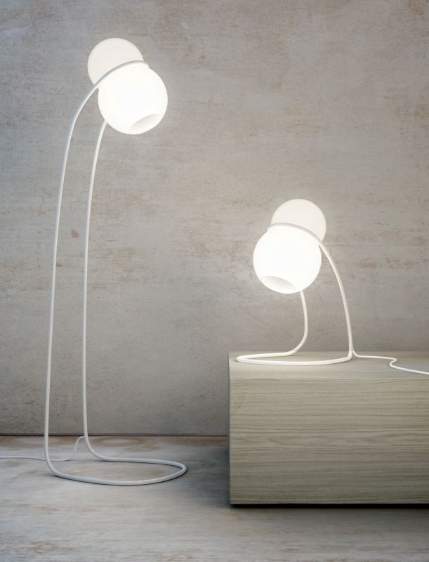 Baubau floor and table lamp
