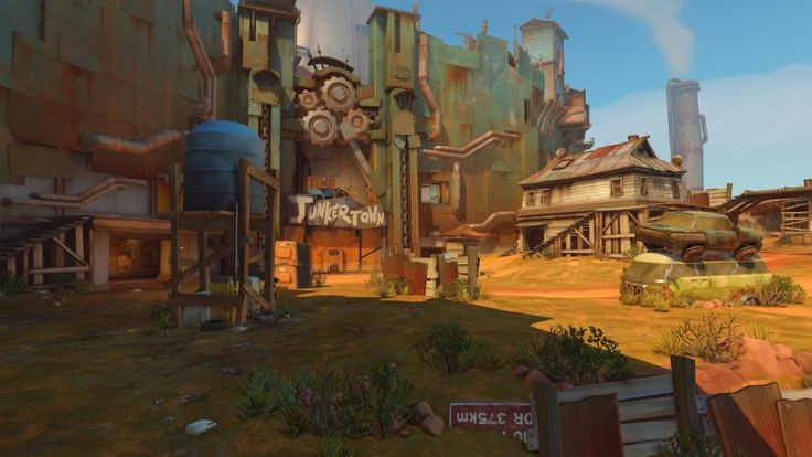 Overwatch reveals Junkertown map release date, backstory in new preview